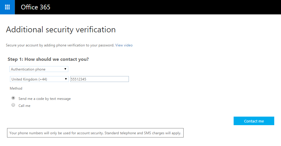 Set Up Two Factor Auth Part 2