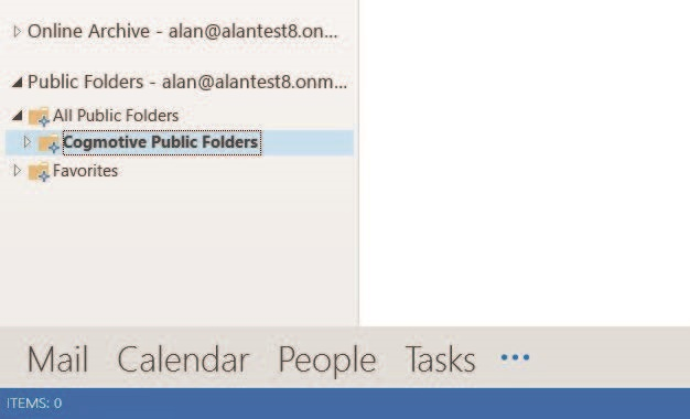 View all folders in Outlook