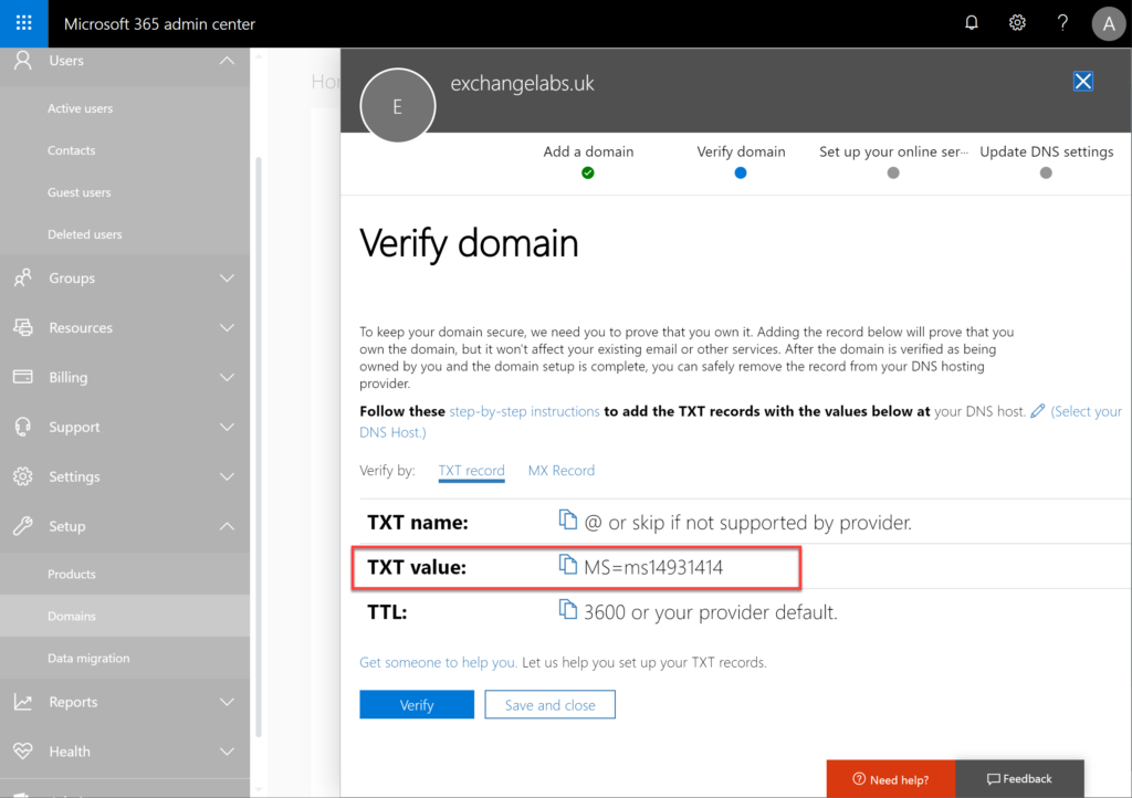 The first step in migrating Exchange to Office 365