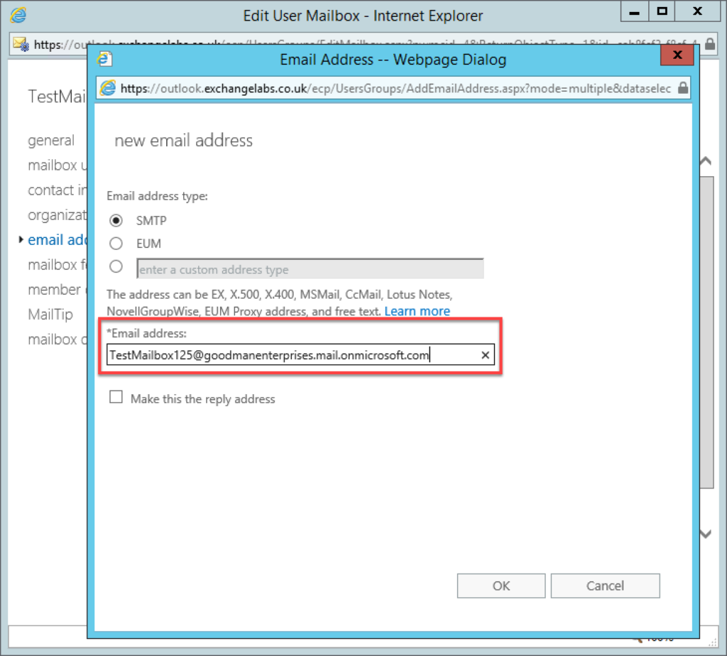 Migrating Exchange to Office 365 step 25