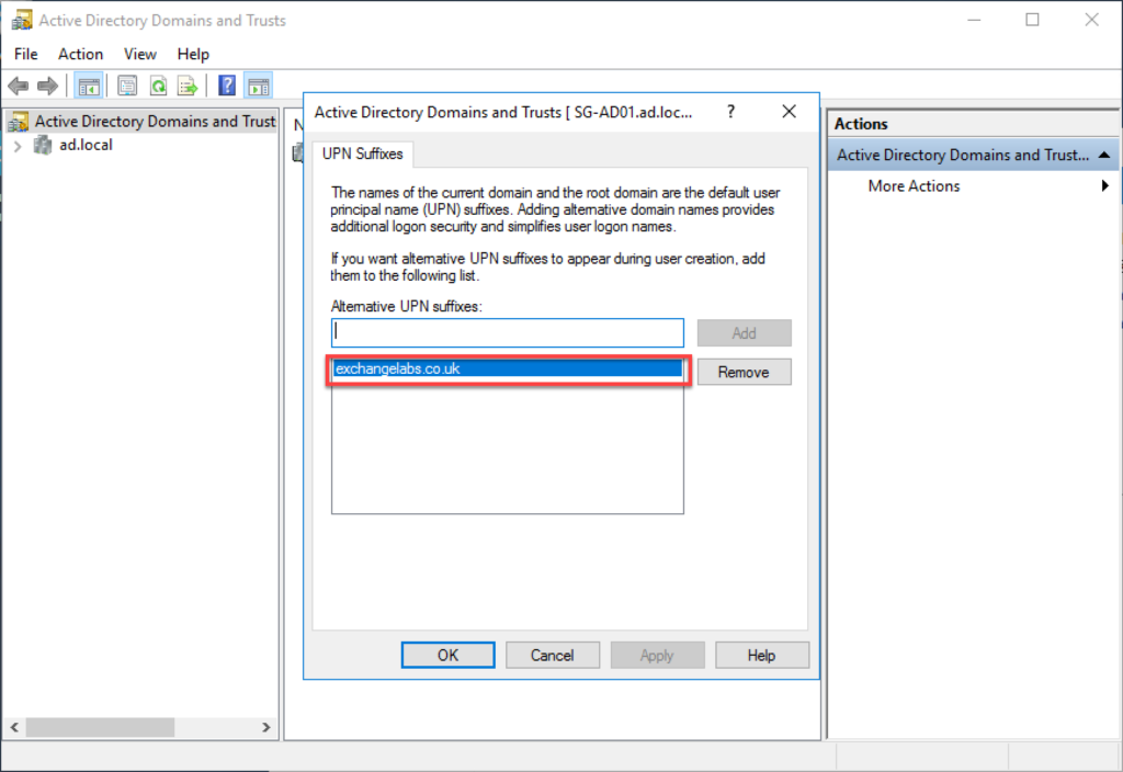 Screen shot showing the thirs step in how to migrate Exchange to Office 365