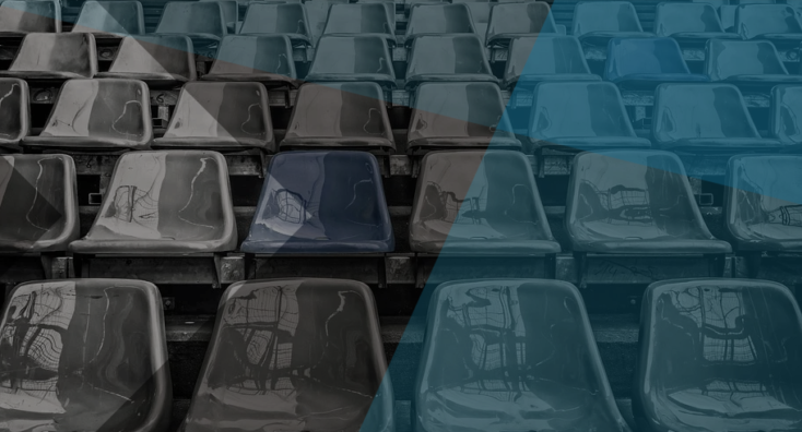 Empty seats representing mismanaged Office 365 licenses
