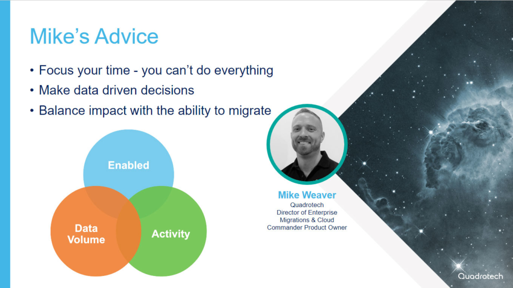 Mike Weaver on Office 365 tenant migration advice