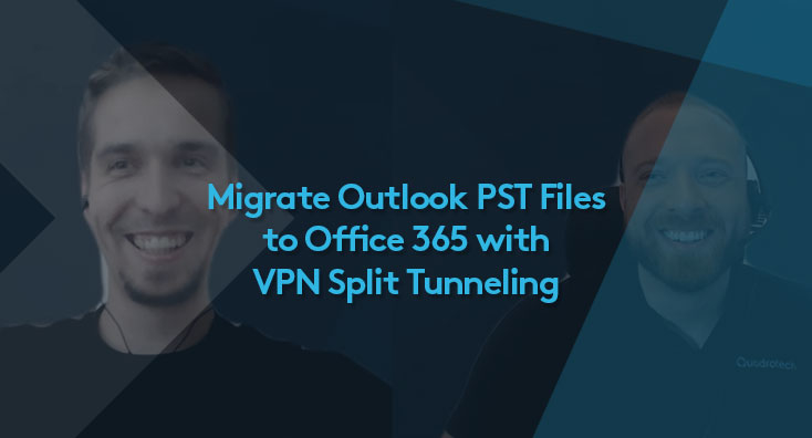 Milan and Mike discuss Office 365 VPN Split Tunneling